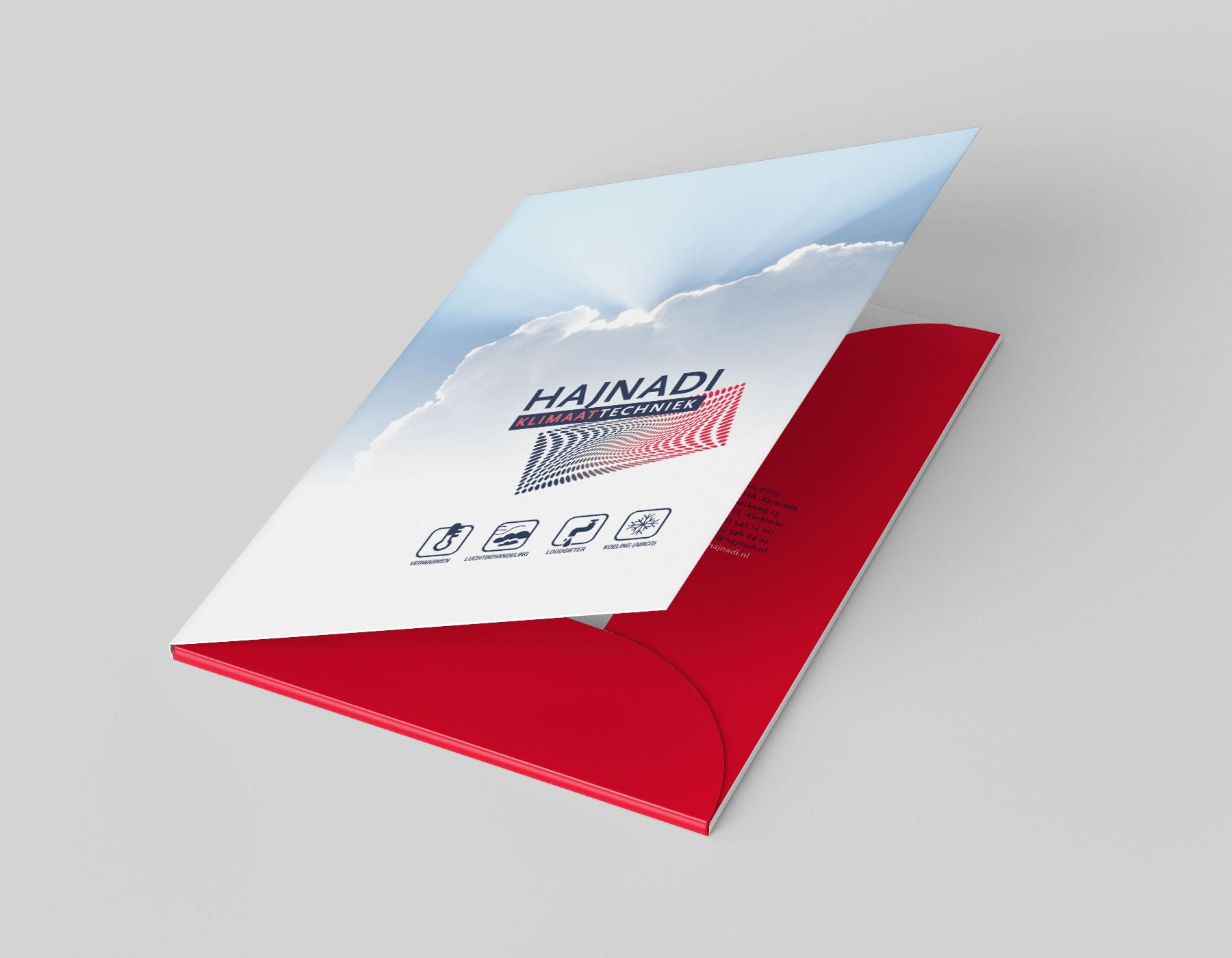 hajnadi installatietechniek offertemap vormgeving drukwerk